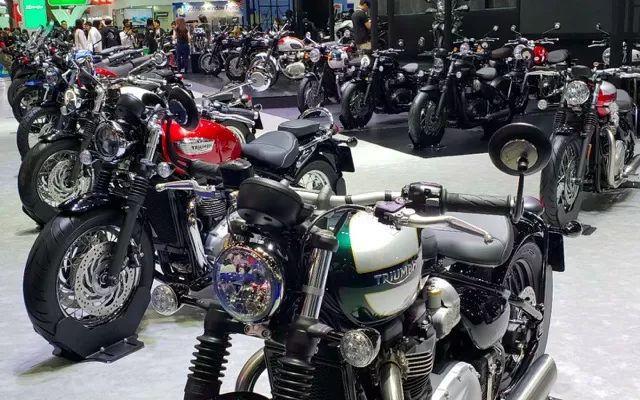 探秘非主流的曼谷车展摩托车?#30423;?#25250;镜