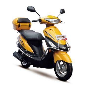 济南轻骑摩托 小踏板摩托车 QM48QT-8(II)C 金灵动