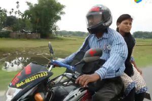 他用摩托车拯救4000生命