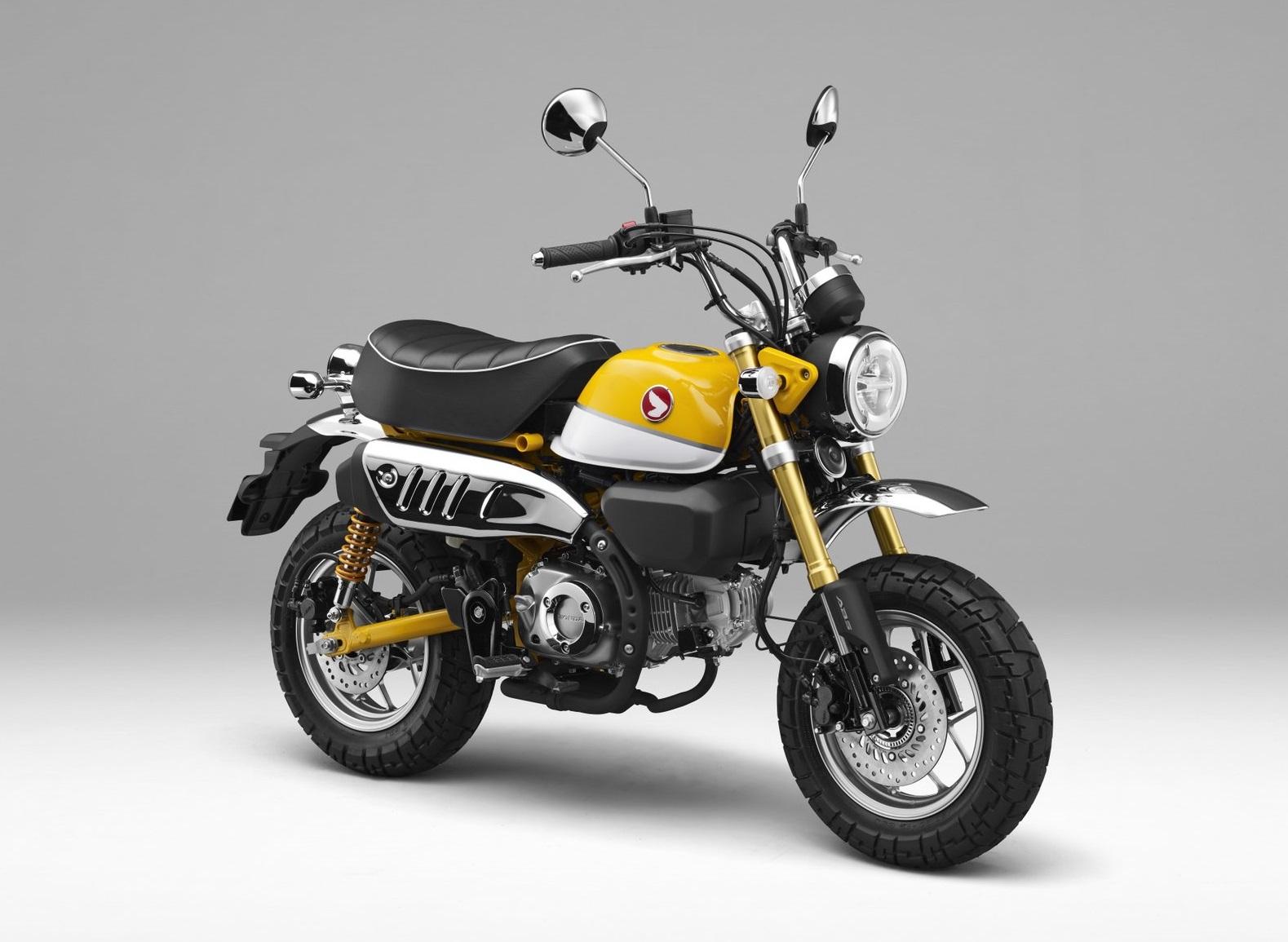 2018本田新一代大猴子Monkey125即将量产