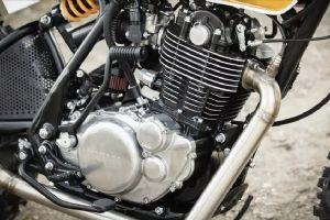 改装赏析|雅马哈大单缸SR400