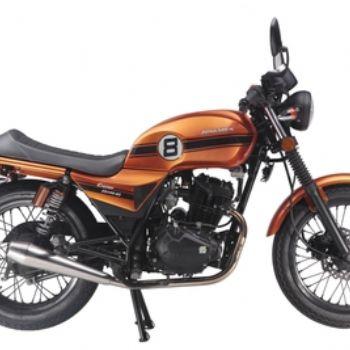 宗申复古摩托车week8(ZS150-52)出口转内销
