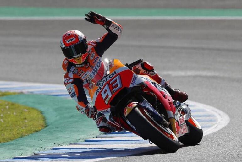 MotoGP西班牙站杜卡迪全军覆没马奎斯夺两连冠