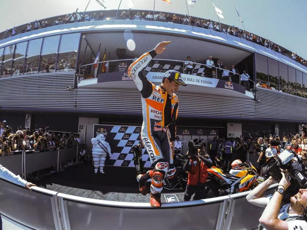 图赏 MotoGP西班牙站精彩花絮