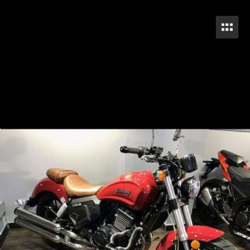 永源350太子科迈多Commando YY350双缸水冷电喷 个性太子摩托车