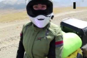 她曾是自由之旅女队员 如今单人环游中国