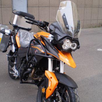 赛科龙宗申 RX3S ZS400旅行休旅车双缸20升油箱德尔福电喷摩托车