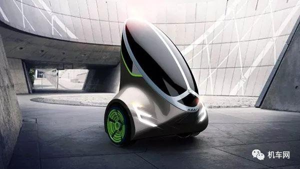 铃木未来两轮设计方案造型太科幻