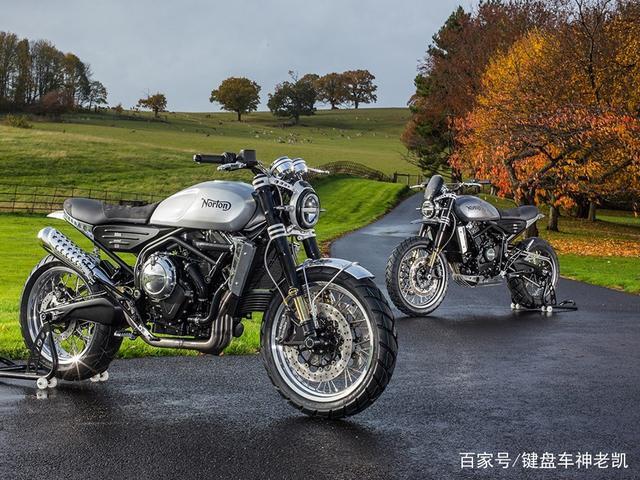 诺顿650双缸复古发布,发动机宗申制造