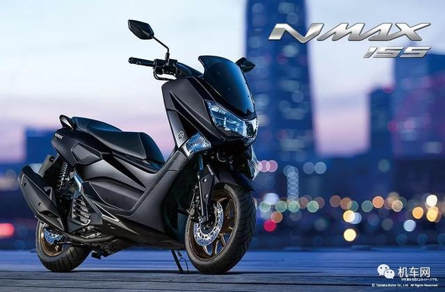雅马哈NMAX155明年引进,预估价格2.38万元!
