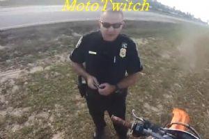 当摩友遇见警察蜀黍的时候・・・
