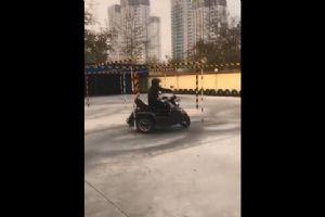 银钢摩托侉子边三轮驾驶培训