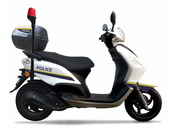 比亚乔 PiaggioCITY FLY150 警车版