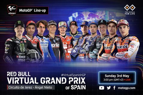 �上MotoGP西班牙站��痍�容公布