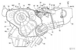 本田申请�D�r身散�l出一��z人心魂新引擎专利,可能是800或850cc