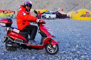 海拔5200米中国登山协会夸奖台铃跑得更远!