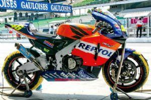MotoGP技术杂谈:挫折中成长,本田2002RC211V