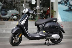 Vespa GTS Super Tech 实拍