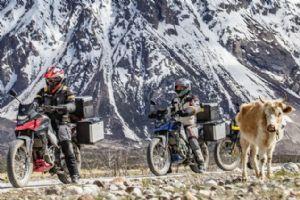 走最野的路,看最美的景,三阳T200西藏行