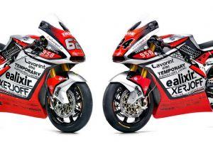 奥古斯塔 2020 Moto2赛车特写