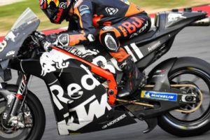 MotoGP技�g�s�:KTMRC16的新�架