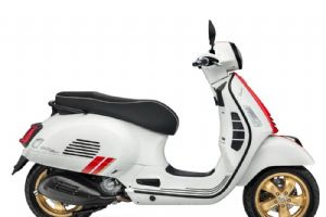 Vespa GTS Super Racing Sixties 300特别版整车大图