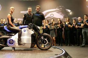 0-160km/h只要6秒Voxan全新电动摩托登场