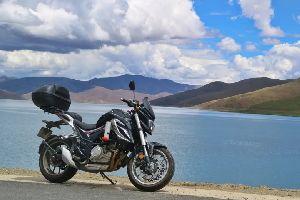 摩旅丨其实去西藏的路途也很美好