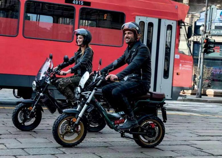 来自意大利的电动摩托车Mulanboy木兰凡奇