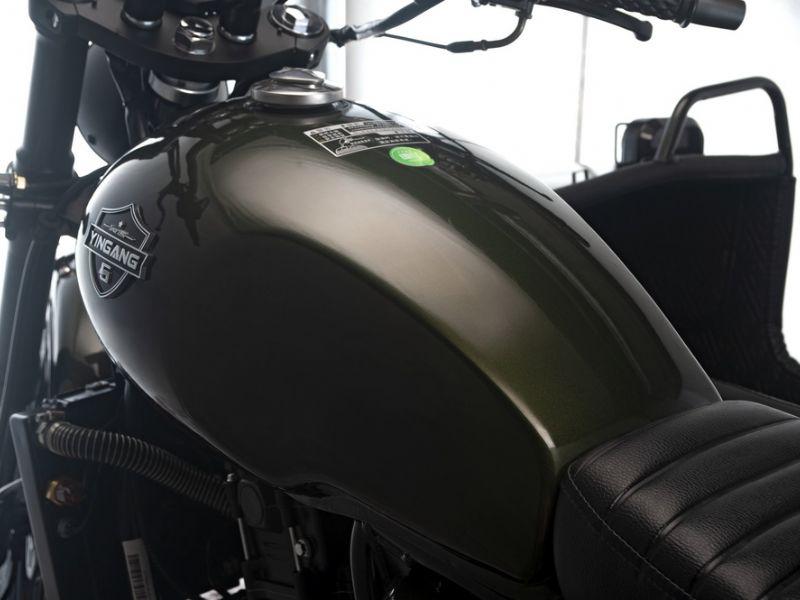 银钢悍路者YG300B-A  银钢悍路者二代旅行版 局部细节