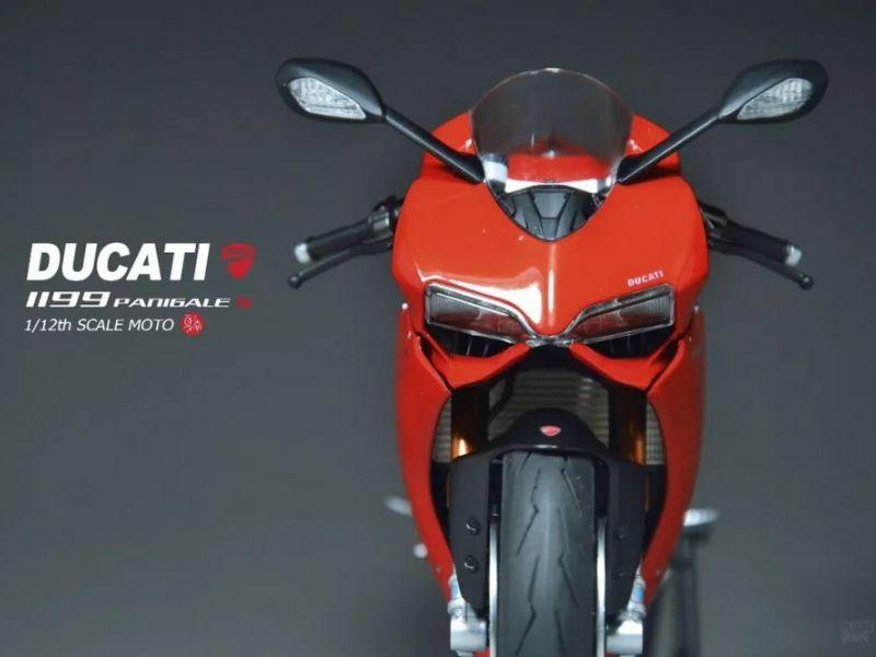 田宫1:12模型 Ducati 1199 Panigale S
