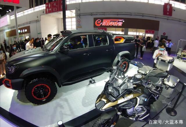 北京车展收官盘点汽车展中的那些摩托车