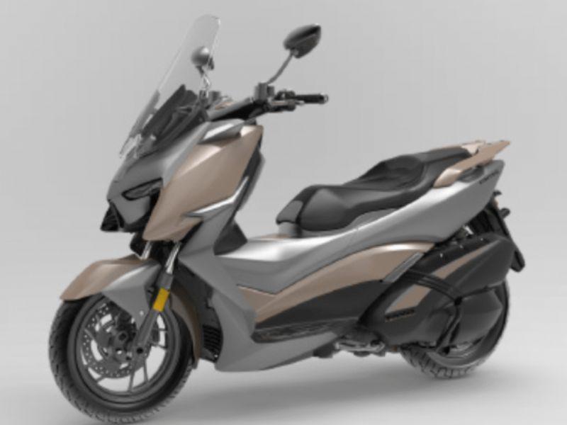 升仕踏板310M实车亮相,配彩色液晶仪表