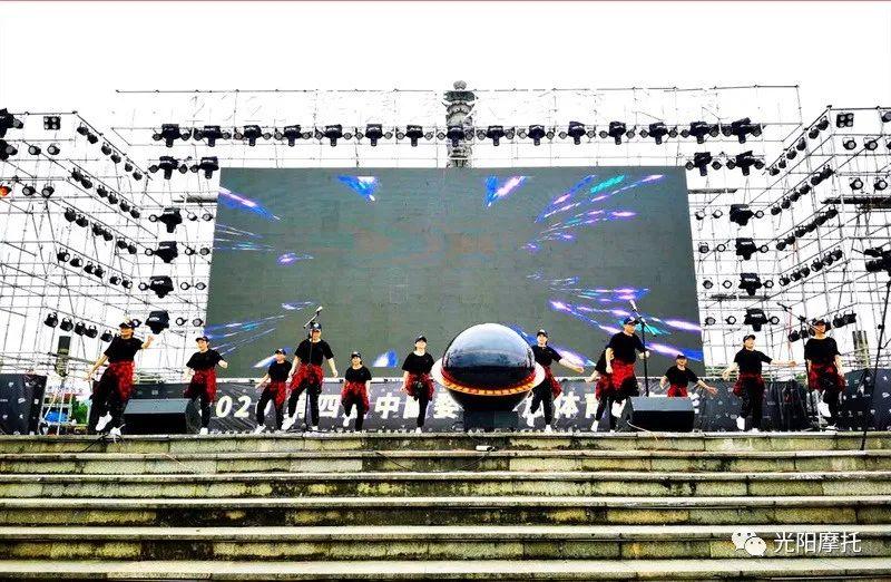 光阳摩托助力2020第四届婺源摩旅体育嘉年华