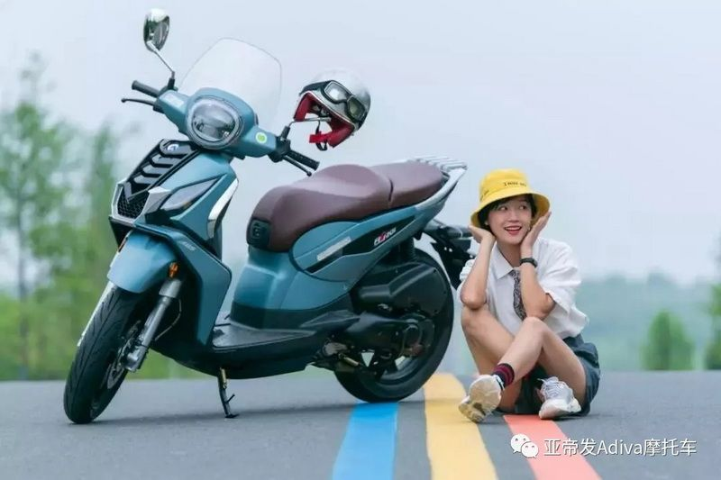 好骑又好玩的大轮运动踏板ADIVA-AJ201