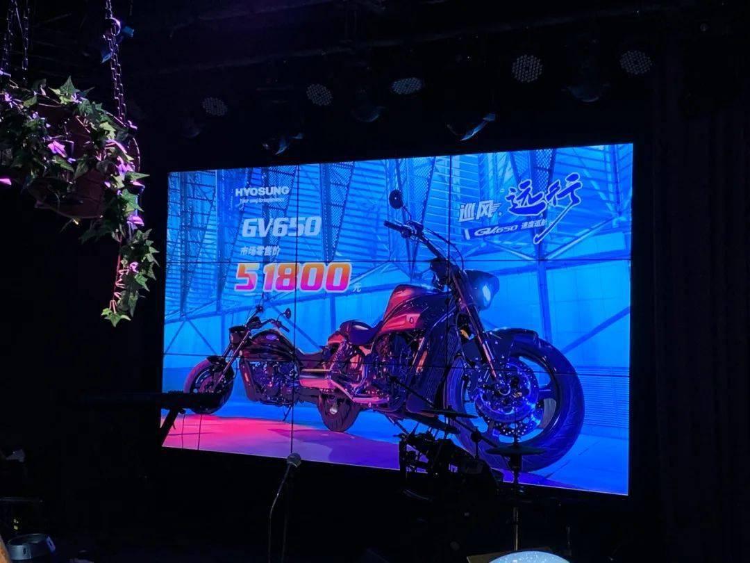 51800元,轻骑大韩新款V双缸巡航GV650发布