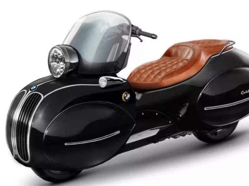 Nmoto公司将宝马踏板车变成了VESPA风格!