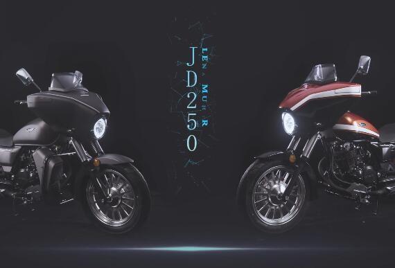 """杰迪JD250-4L,""""骑迹""""正在发生"""