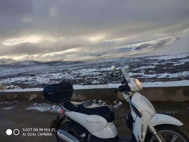 5天4000公里,骑上提拉米苏去摩旅