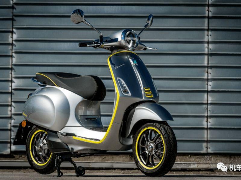 阿普利亚首款电动踏板,基于Vespa动力平台