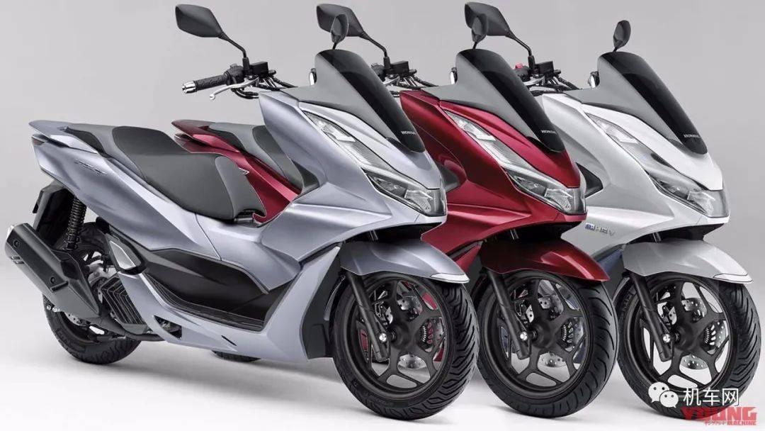 本田四气门踏板、混合动力PCX160发布
