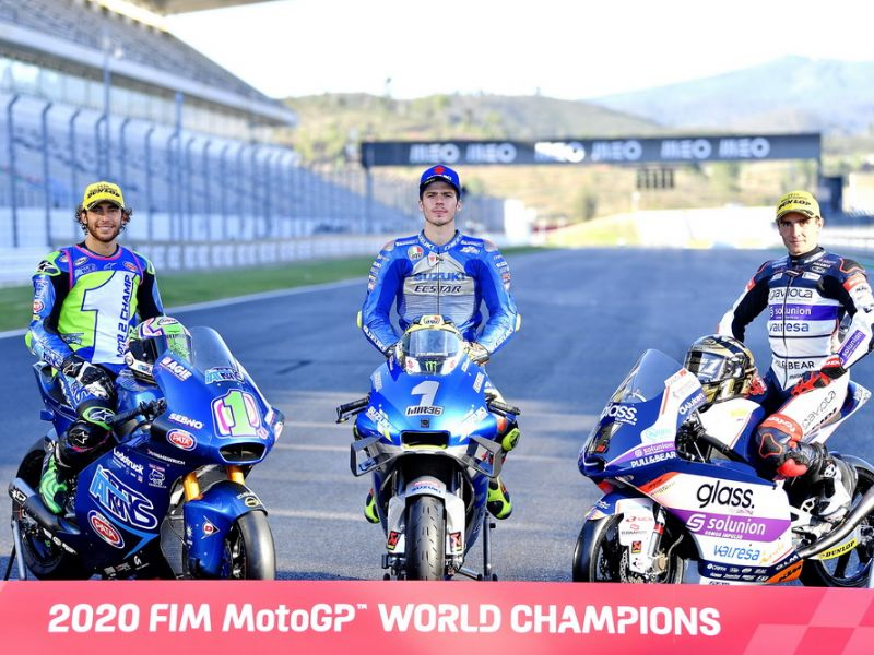 2020 �季的 MotoGP 冠��D集