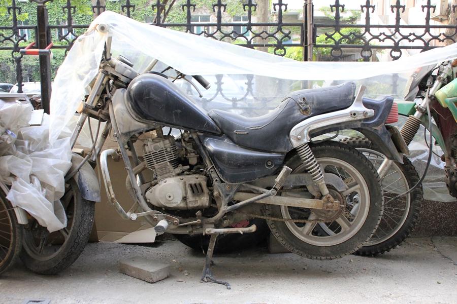 爱好摩托多年,二十年期间拥有过 -不死战士 麒麟太子涅槃重生 摩托车