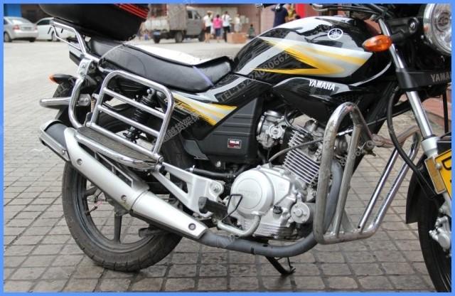 天剑雅马哈125摩托车的空档灯接线图