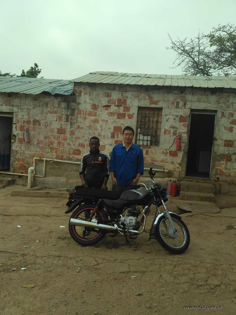 我在非洲看到的中国摩托