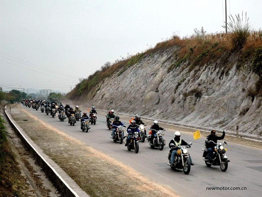 中国摩托车俱乐部,好活动,搞起来!