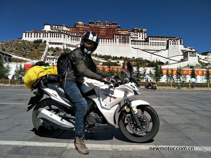 一辆力帆,一个人,命悬一线闯西藏,2600公里的孤独摩旅!
