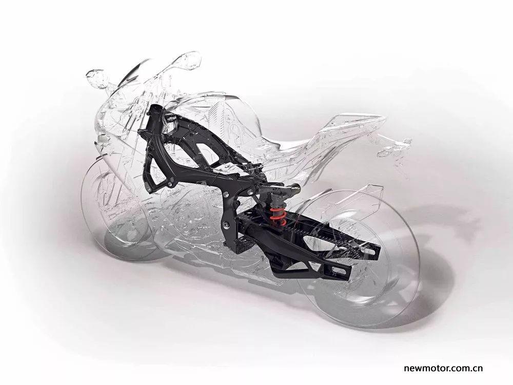 2019年宝马S1000RR将使用革命性框架技术